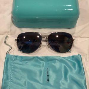 Tiffany aviator sunglasses with crystals